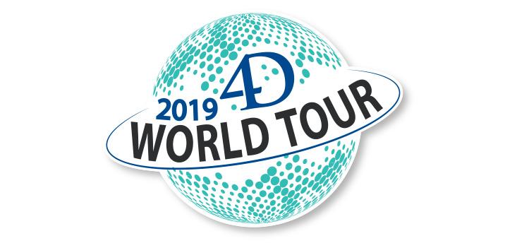 4D World Tour 2019 – Las inscripciones están abiertas