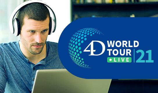 Formación en directo 4D World Tour